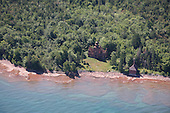 Fourteen Mile Point Lighthouse, Ontonagon, Upper Peninsula of Michigan.
