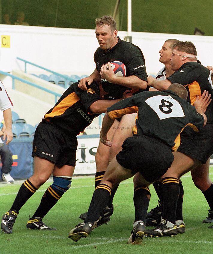 Photo: Ken Brown.13/9/98 Wasps v Swansea.Mark Weedon