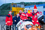 Launching the Christmas Day swim in Ballybunion at Ladies Beach at 12.30, all welcome. Pictured at the launch were l-r  Frank O'Connor, Jim Enright and Jonathan Mahony Ann Meehan, TJ McCarron,