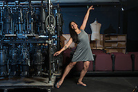 "Maricela Guardado '17 is currently at work on her full-length play, ""This Is How the Pacheco Brothers Make Their Mama's Chicken Soup,"" at Oxy's Undergraduate Research Center. Photographed in Keck Theater on June 23, 2016.<br /> <br /> ""One of the reasons why I made this play so personal is because I was really upset with [how] I never found pieces that I could relate to or see myself in, and I know that my culture should be celebrated. So I was like 'OK, I gotta do it.'""<br /> ""Throughout the play, we find out what the relationship is between these brothers, how they relate to their mom and her experience as a Salvadoran immigrant and how that's manifested now as second-generation Salvis. I grew up in this community as well, so I'm using Oxy as an opportunity to gather more resources and be of service.""<br /> <br /> https://www.instagram.com/p/BIGCLNugWwc/?taken-by=occidentalcollege<br /> (Photo by Marc Campos, Occidental College Photographer)"