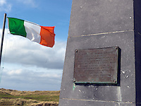 The Roger Casement Monument at Banna Strand, County Kerry.<br /> Photo: Don MacMonagle <br /> e: info@macmonagle.com