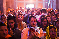 Scene from the Saint Thaddeus armenian pilgrimage in islamic republic of Iran, summer 2008.