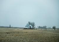 A ranch near Alzada, Montana, Friday, November 9, 2012.<br /> <br /> <br /> Photo by Matt Nager