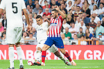Real Madrid Carlos Henrique Casemiro and Atletico de Madrid Koke Resurreccion during La Liga match between Real Madrid and Atletico de Madrid at Santiago Bernabeu Stadium in Madrid, Spain. September 29, 2018. (ALTERPHOTOS/Borja B.Hojas)