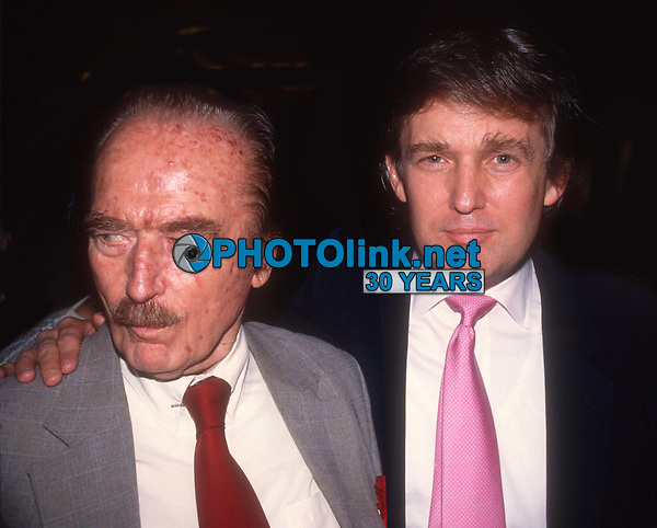 Fred Trump Donald Trump Undated<br /> Photo By Adam Scull/PHOTOlink.net