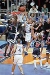 02 APR 2001:  Duke forward Shane Battier (31) slames one home as University of Arizona forward Michael Wright (2) trys to block the shot late in the second half of the NCAA Men's Basketball Final Four Championship game held in Minneaplois, MN at the Hubert H. Humphrey Metrodome. Duke defeated Arizona 82-72 for the championship. Also pictured Arizona guard Jason Gardner (22) and center Loren Woods (3) and Duke center Carlos Boozer (4). Brian Gadbery/NCAA Photos