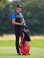 Sebastian Heisele (GER) on the 2nd fairway during Round 1 of the Bridgestone Challenge 2017 at the Luton Hoo Hotel Golf &amp; Spa, Luton, Bedfordshire, England. 07/09/2017<br /> Picture: Golffile   Thos Caffrey<br /> <br /> <br /> All photo usage must carry mandatory copyright credit     (&copy; Golffile   Thos Caffrey)