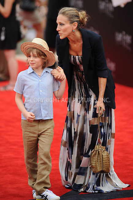 WWW.ACEPIXS.COM . . . . . .July 11, 2011...New York City...Sarah Jessica Parker with son James Wilkie Broderick attend the New York premiere of 'Harry Potter And The Deathly Hallows: Part 2' at Avery Fisher Hall, Lincoln Center on July 11, 2011 in New York City...Please byline: KRISTIN CALLAHAN - ACEPIXS.COM.. . . . . . ..Ace Pictures, Inc: ..tel: (212) 243 8787 or (646) 769 0430..e-mail: info@acepixs.com..web: http://www.acepixs.com .