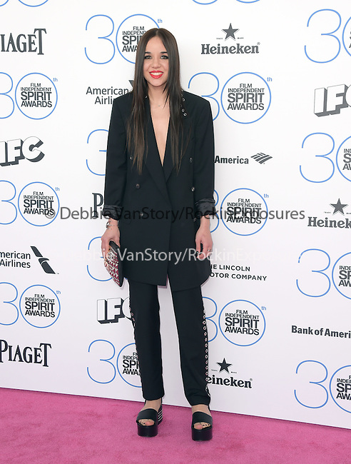 Lorelei Linklater<br /> <br /> <br /> <br />  attends 2015 Film Independent Spirit Awards held at Santa Monica Beach in Santa Monica, California on February 21,2015                                                                               © 2015Hollywood Press Agency