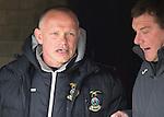 St Johnstone v Inverness Caley Thistle...02.05.15   SPFL<br /> Yogi Hughes still not got his teeth fixed as he talks with Tommy Wright<br /> Picture by Graeme Hart.<br /> Copyright Perthshire Picture Agency<br /> Tel: 01738 623350  Mobile: 07990 594431