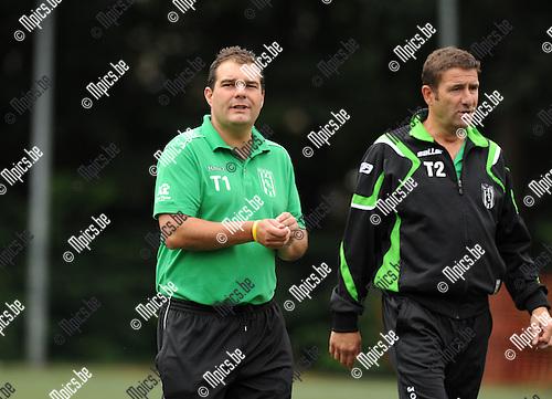 2011-07-30 / Voetbal / seizoen 2011-2012 / Exc. Kaart /  Ken Bastin (L)..Foto: mpics
