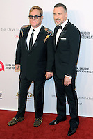 NEW YORK, NY - NOVEMBER 02: Sir Elton John and David Furnish attend 15th Annual Elton John AIDS Foundation An Enduring Vision Benefit at Cipriani Wall Street on November 2, 2016 in New York City.Photo by John Palmer/ MediaPunch