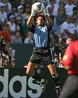 Silke Rottenberg, Germany vs. Sweden in the 2003 WWC Finals. Germany won 2-1.