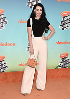 LOS ANGELES, CA - MARCH 23:  Paige at Nickelodeon's 2019 Kids' Choice Awards at the Galen Center on March 23, 2019 in Los Angeles, California. (Photo by Scott KirklandPictureGroup)