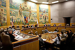 The California Assembly and Senate hold a Joint Informational Hearing on the UC Davis pepper spray incident at the State Capitol in Sacramento, CA, December 14, 2011.