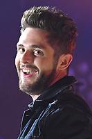 11 June 2017 - Nashville, Tennessee - Kelsea Ballerini, Thomas Rhett. 2017 CMA Music Festival Nightly Concert held at Nissan Stadium. Photo Credit: Dara-Michelle Farr/AdMedia