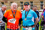 Kevin Finn and Paul Knightly runners at the Kerry's Eye Tralee, Tralee International Marathon and Half Marathon on Saturday.