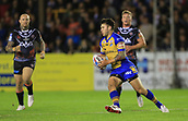 8th September 2017, The Mend-A-Hose Jungle, Castleford, England; Betfred Super League, Super 8s; Castleford Tigers versus Leeds Rhinos; Tom Briscoe of Leeds Rhinos turns with the ball