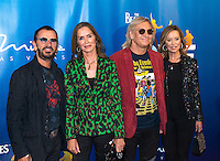 LAS VEGAS, NV - July 14, 2016: Ringo Starr, Barbara Bach, Joe Walsh and Marjorie Bach pictured arriving at The Beatles LOVE by Cirque Du Soleil at The Mirage Resort in Las vegas, NV on July 14, 2016. Credit: Erik Kabik Photography/ MediaPunch
