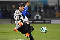 Torwart Marius Mueller (1. FC Kaiserslautern) - 21.02.2018: SV Darmstadt 98 vs. 1. FC Kaiserslautern, Stadion am Boellenfalltor, 2. Bundesliga