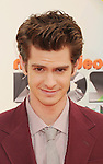 LOS ANGELES, CA - MARCH 31: Andrew Garfield arrives at the 2012 Nickelodeon Kids' Choice Awards at Galen Center on March 31, 2012 in Los Angeles, California.