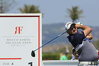 Zander Lombard (RSA) during the third round of the Rocco Forte Sicilian Open played at Verdura Resort, Agrigento, Sicily, Italy 12/05/2018.<br /> Picture: Golffile   Phil Inglis<br /> <br /> <br /> All photo usage must carry mandatory copyright credit (&copy; Golffile   Phil Inglis)