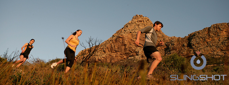 Generic Trail Running Shots, Tokai Forest Cape Town, South Africa