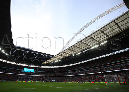 March 26th 2017, Wembley Stadium, London, England; World Cup 2018 Qualification football, England versus Lithuania; General view of Wembley Stadium during the 2nd half