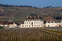 vineyard chateau de  pommard cote de beaune burgundy france