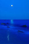 Moonrise over Lucy Vincent Beach, Martha's Vineyard
