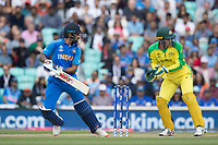 Shikhar Dhawan (India) plays a late cut to the third boundary for four runs during India vs Australia, ICC World Cup Cricket at The Oval on 9th June 2019