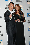 Tom Hanks with Julia Roberts as she is honored at The 22nd Annual American Cinematheque Award held at the Beverly Hilton Hotel Beverly Hills, Ca. October 12, 2007. Fitzroy Barrett