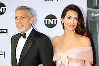 HOLLYWOOD, CA - JUNE 7: George Clooney and Amal Clooney at the American Film Institute Lifetime Achievement Award Honoring George Clooney at the Dolby Theater in Hollywood, California on June 7, 2018. <br /> CAP/MPI/DE<br /> &copy;DE//MPI/Capital Pictures