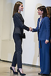 Spanish Queen Letizia attends the Forum Against Cancer at the Telefonica Foundation in Madrid, Spain. February 2nd 2017. (ALTERPHOTOS/Rodrigo Jimenez)