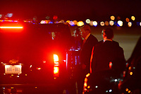 WEST PALM BEACH, FL ñ NOVEMBER 21: U.S. President Donald Trump his wife Melania Trump and son Barron Trump arrive together on Air Force One at the Palm Beach International Airport to spend Thanksgiving weekend at Mar-a-Largo resort November 21, 2017 in West Palm Beach, Florida. President Trump has made numerous trips to his Florida home since being President. Credit: MPI10 / MediaPunch NortePhoto.com