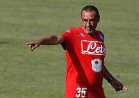 Maurizio Sarri <br /> ritiro precampionato Napoli Calcio a  Dimaro 14Luglio 2015<br /> <br /> Preseason summer training of Italy soccer team  SSC Napoli  in Dimaro Italy July 1a, 2015