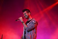 SAO PAULO, SP, 28.03.2015 - LOLLAPALOOZA 2015 - AUTODROMO INTERLAGOS, SP - O grupo britanico Bastille, se presenta no palco Axe, do Lollapalooza 2015, no Autodromo de Interlagos, neste Sabado, 28. (Douglas Pingituro / Brazil Photo Press)