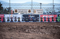 Riders start prepared at Spanish Motocross Championship at Albaida circuit (Spain), 22-23 February 2014