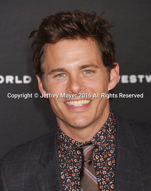 HOLLYWOOD, CA - SEPTEMBER 28: Actor James Marsden attends the premiere of HBO's 'Westworld' at TCL Chinese Theater on September 28, 2016 in Hollywood, California.
