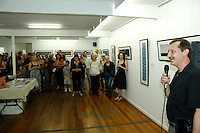 Earle Bridger, Deputy Director of the Qld College of Art Gold Coast, opens the exhibition.