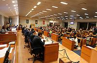 NAPOLI CONSIGLIO REGIONALE DELLA CAMPANIA .NELLA FOTO AULA DEL CONSIGLIO REGIONALE.FOTO CIRO DE LUCA