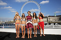 Coleen Rooney presents her SS14 fashion and swimwear collection for Littlewoods.com, London. 09/04/2014 Picture by: Henry Harris / Featureflash