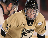 Brendan Soucie (Army - 14) - The Bentley University Falcons defeated the Army West Point Black Knights 3-1 (EN) on Thursday, January 5, 2017, at Fenway Park in Boston, Massachusetts.The Bentley University Falcons defeated the Army West Point Black Knights 3-1 (EN) on Thursday, January 5, 2017, at Fenway Park in Boston, Massachusetts.