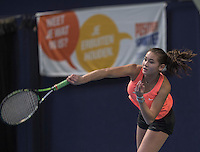 Hilversum, Netherlands, December 4, 2016, Winter Youth Circuit Masters, Roos van Reek (NED)<br /> Photo: Tennisimages/Henk Koster <br /> ban