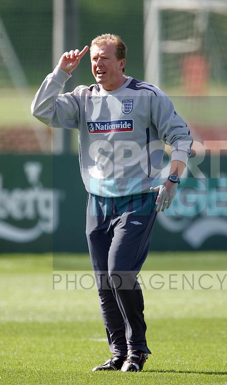 England's Steve McClaren. .Pic: SPORTIMAGE/David Klein