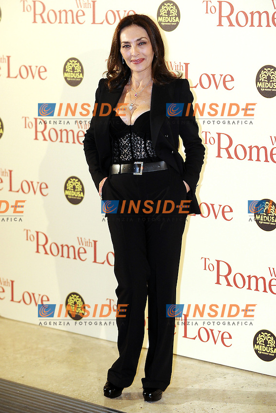 Maria Rosaria Omaggio.Roma 13/4/2012 Auditorium.To Rome with Love - World Premiere.Foto Insidefoto Andrea Staccioli