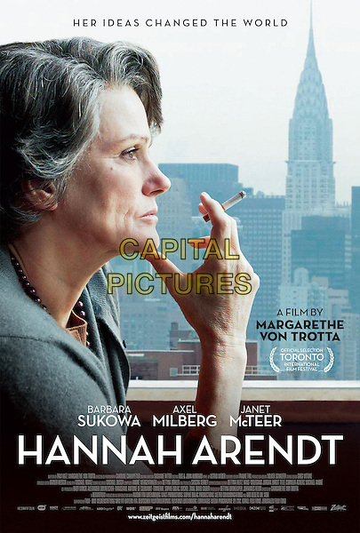 AMERICAN POSTER ART<br /> in Hannah Arendt (2012) <br /> *Filmstill - Editorial Use Only*<br /> CAP/FB<br /> Supplied by Capital Pictures