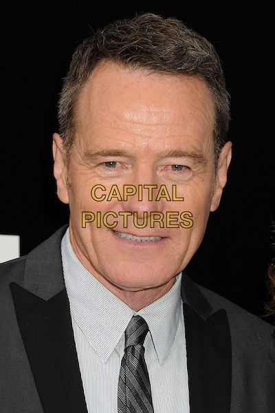 Bryan Cranston<br /> &quot;Breaking Bad&quot; Final Episodes Los Angeles Premiere Screening held at Sony Pictures Studios, Culver City, California, USA, 24th July 2013.<br /> portrait headshot grey gray suit tie white shirt <br /> CAP/ADM/BP<br /> &copy;Byron Purvis/AdMedia/Capital Pictures