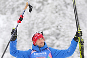 9th December 2017, Biathlon Centre, Hochfilzen, Austria; IBU Biathlon World Cup; Jakov Fak (SLO) who placed second in the mens 12.5KM pursuit