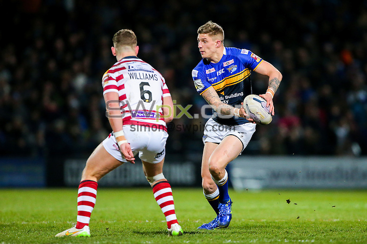 Picture by Alex Whitehead/SWpix.com - 20/03/2015 - Rugby League - First Utility Super League - Leeds Rhinos v Wigan Warriors - Headingley Carnegie Stadium, Leeds, England - Leeds' Liam Sutcliffe.